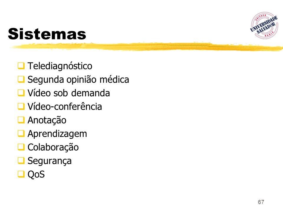 Sistemas Telediagnóstico Segunda opinião médica Vídeo sob demanda