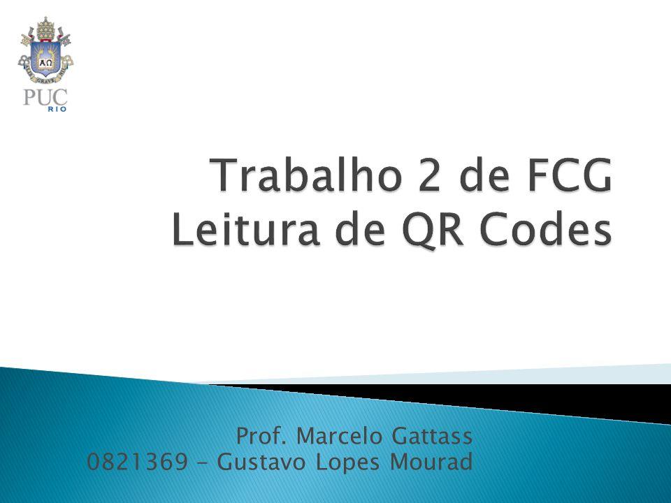 Trabalho 2 de FCG Leitura de QR Codes
