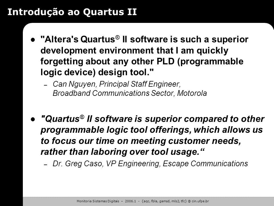 Introdução ao Quartus II