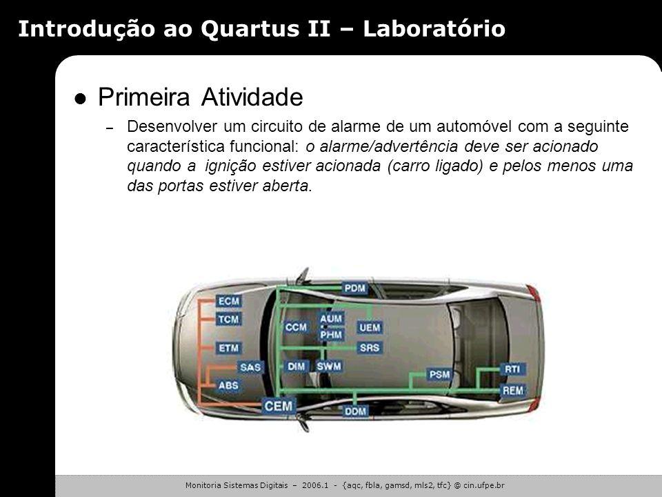 Introdução ao Quartus II – Laboratório