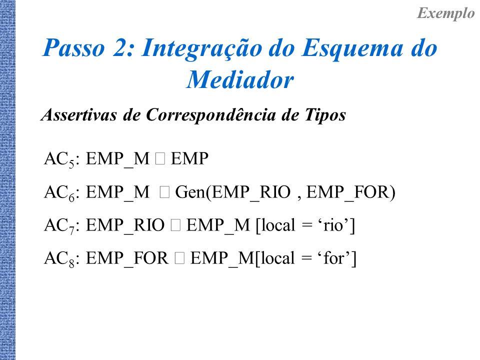 Passo 2: Integração do Esquema do Mediador