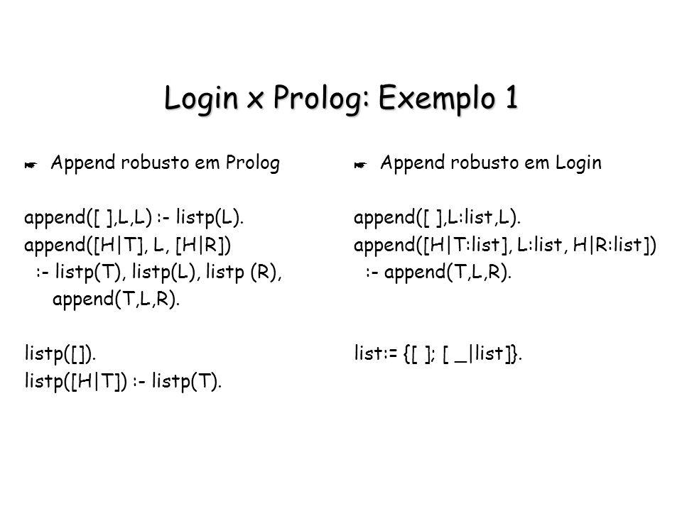 Login x Prolog: Exemplo 1