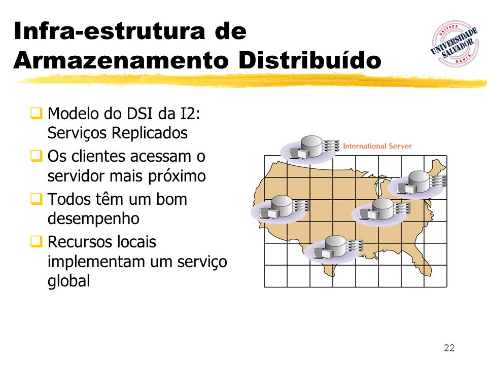 Infra-estrutura de Armazenamento Distribuído