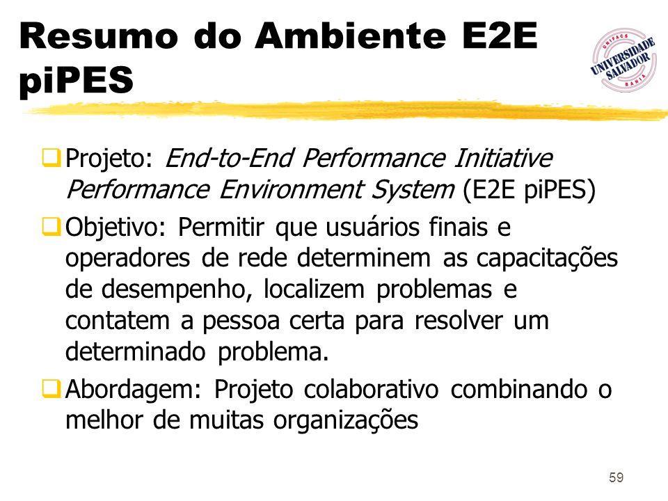 Resumo do Ambiente E2E piPES