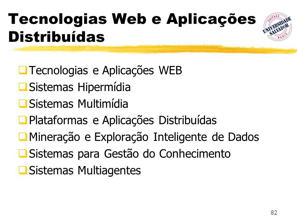 Tecnologias Web e Aplicações Distribuídas