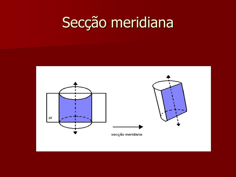 Secção meridiana