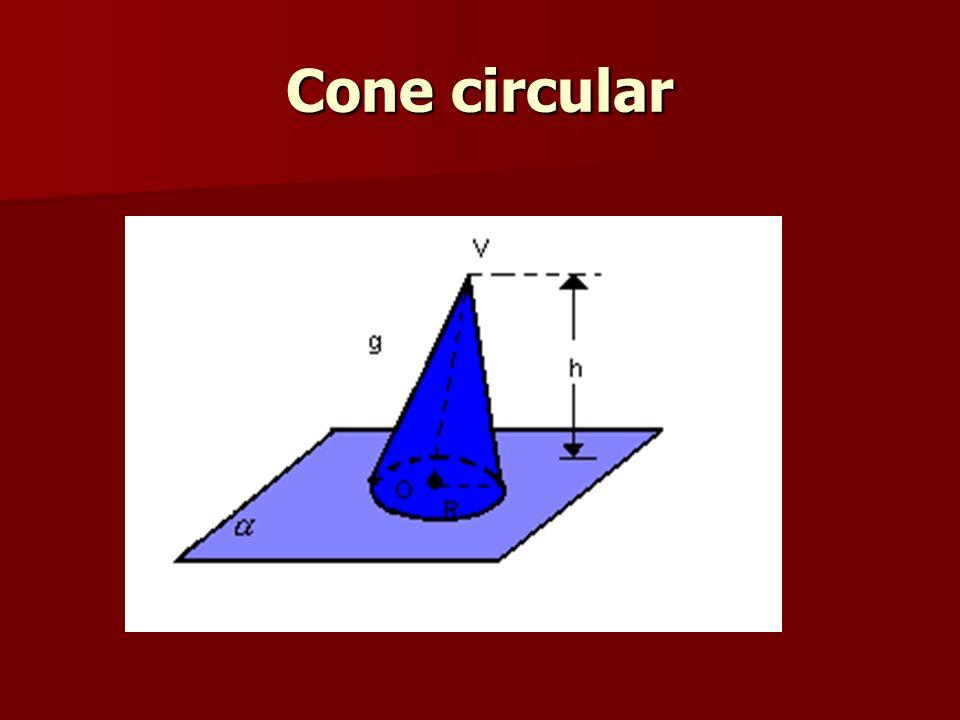 Cone circular