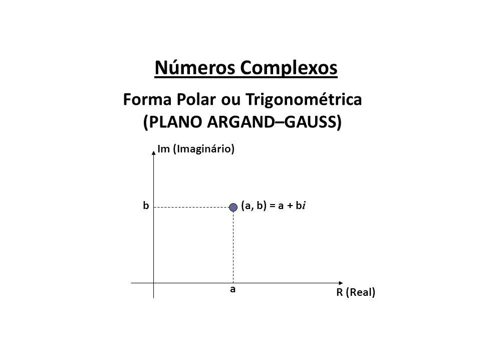 Forma Polar ou Trigonométrica