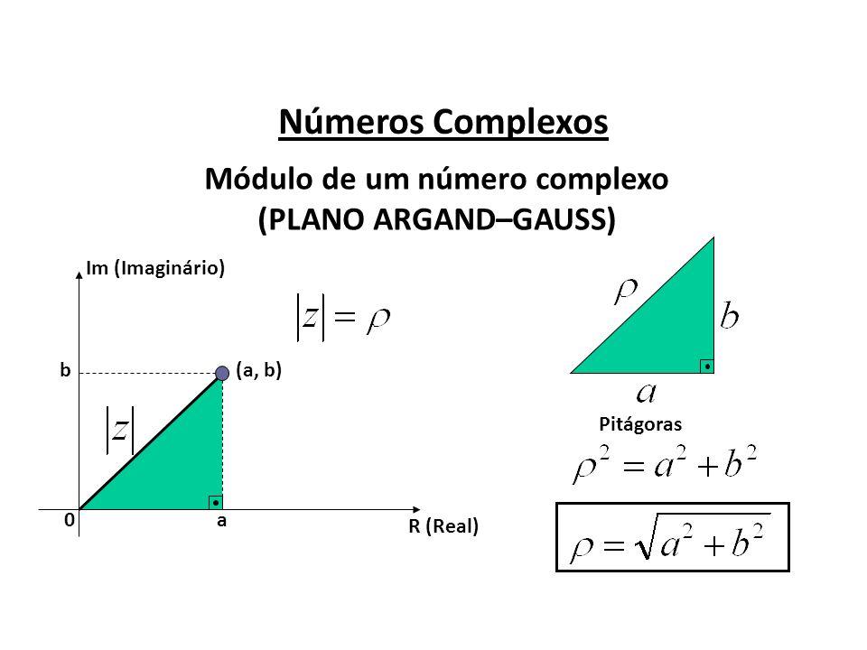 Módulo de um número complexo