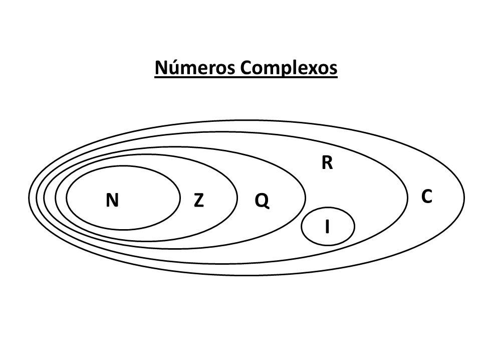 Números Complexos R C N Z Q I
