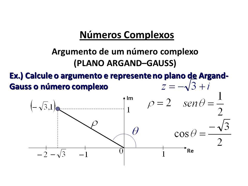 Argumento de um número complexo