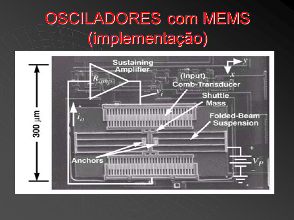 OSCILADORES com MEMS (implementação)