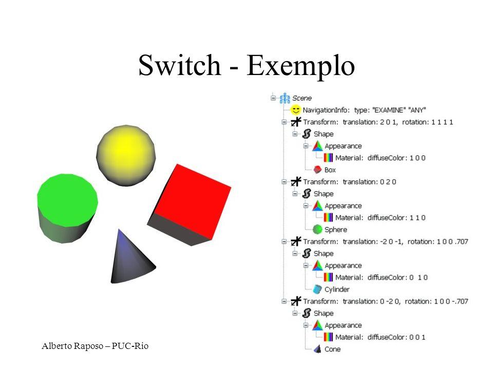 Switch - Exemplo Alberto Raposo – PUC-Rio