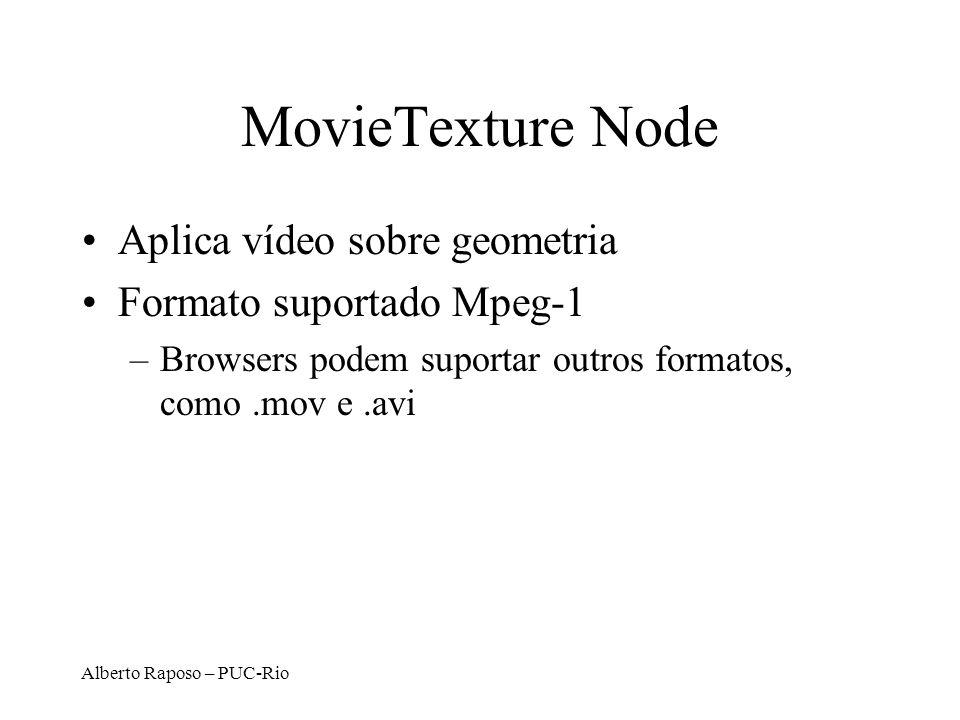 MovieTexture Node Aplica vídeo sobre geometria