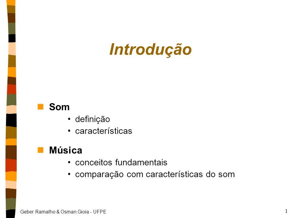 Introdução Som Música definição características conceitos fundamentais