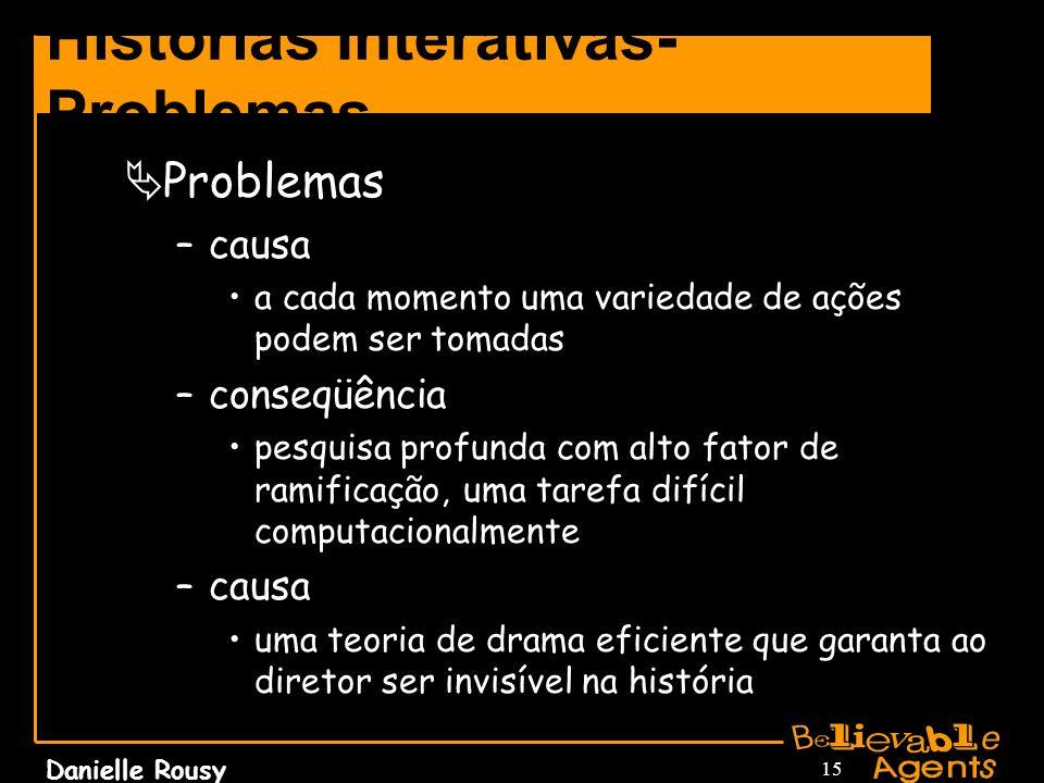 Histórias Interativas-Problemas