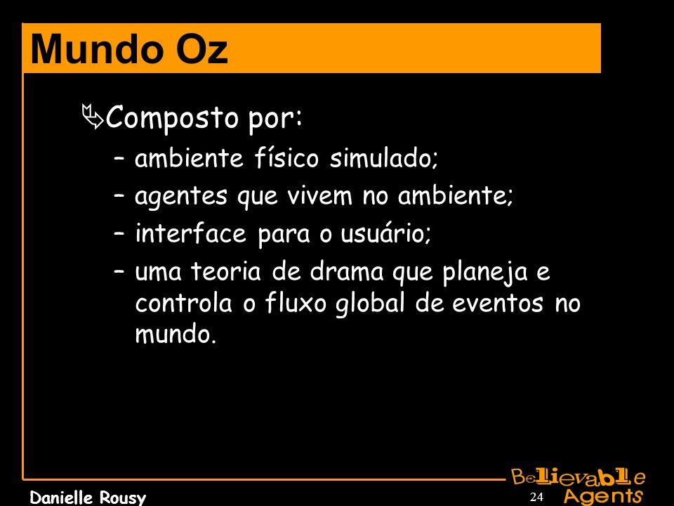 Mundo Oz Composto por: ambiente físico simulado;