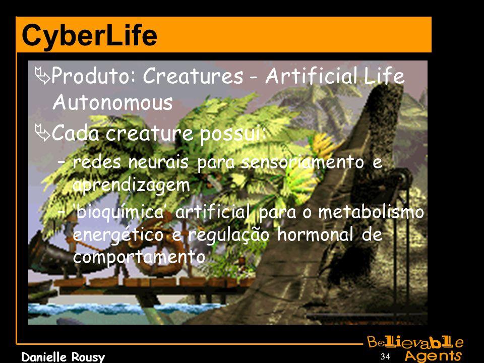 CyberLife Produto: Creatures - Artificial Life Autonomous