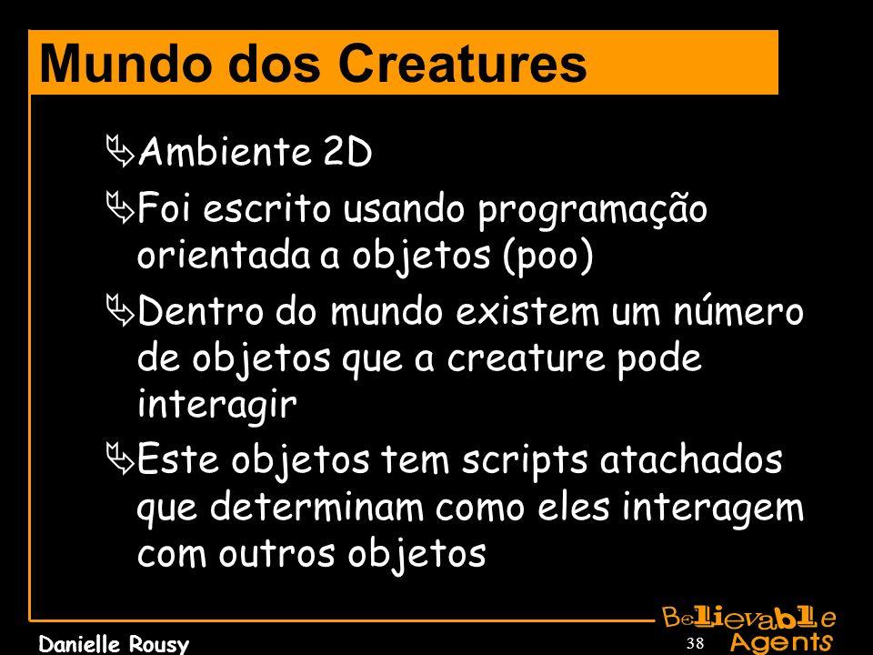 Mundo dos Creatures Ambiente 2D