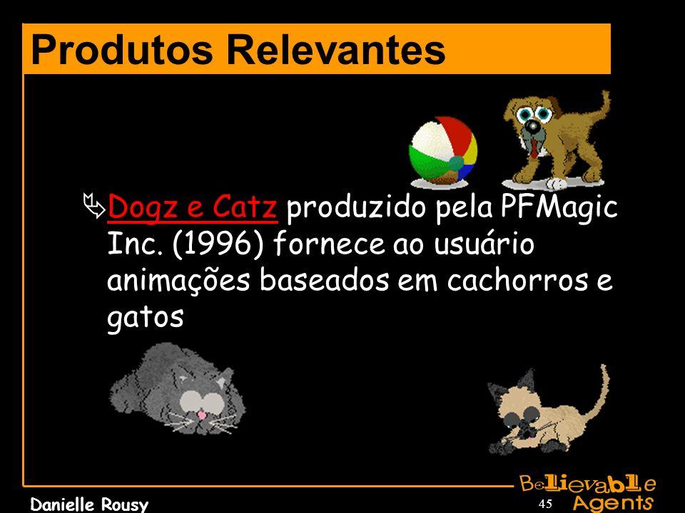 Produtos RelevantesDogz e Catz produzido pela PFMagic Inc.