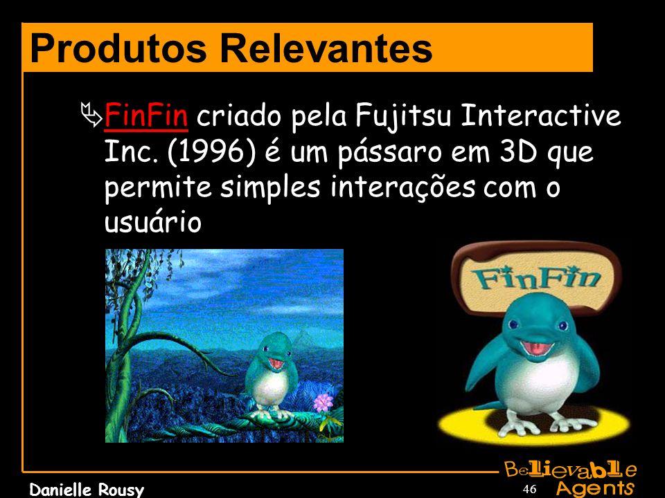Produtos Relevantes FinFin criado pela Fujitsu Interactive Inc.