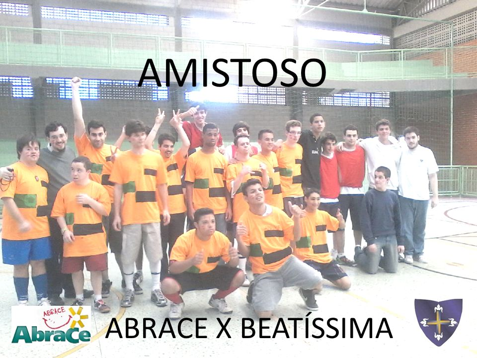 AMISTOSO ABRACE X BEATÍSSIMA
