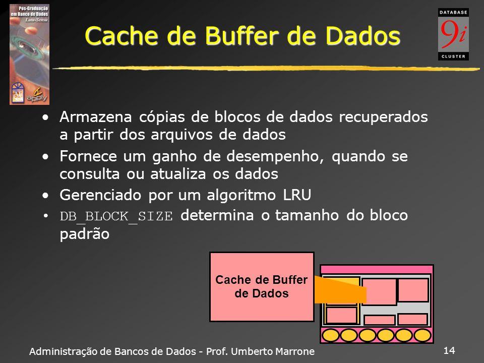 Cache de Buffer de Dados