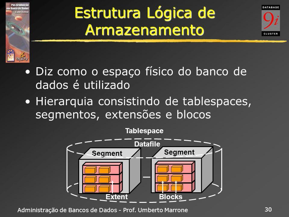 Estrutura Lógica de Armazenamento