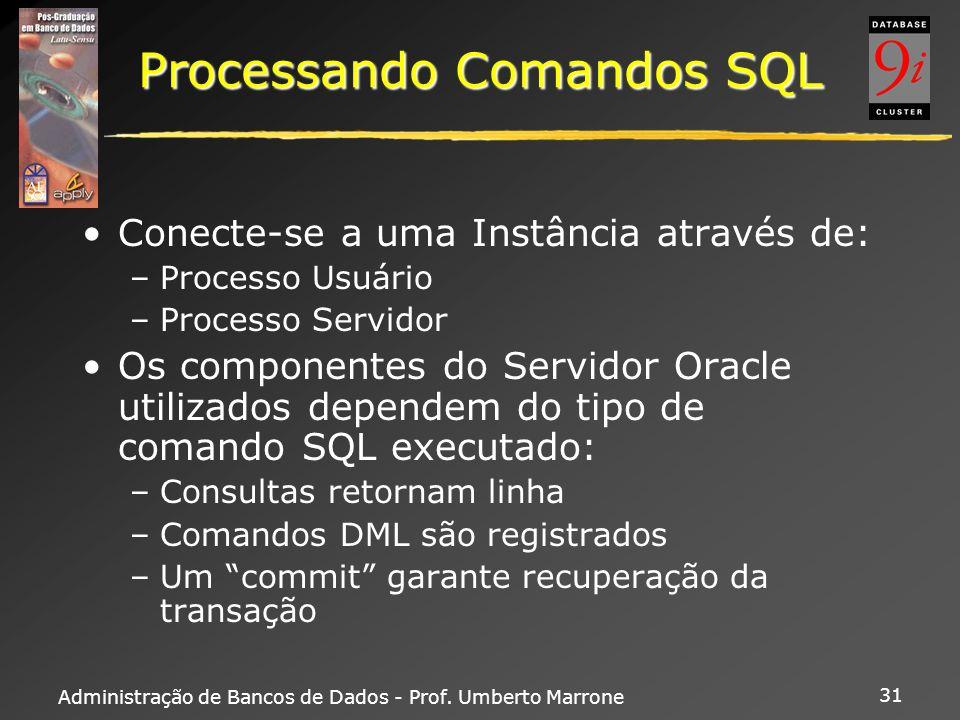 Processando Comandos SQL