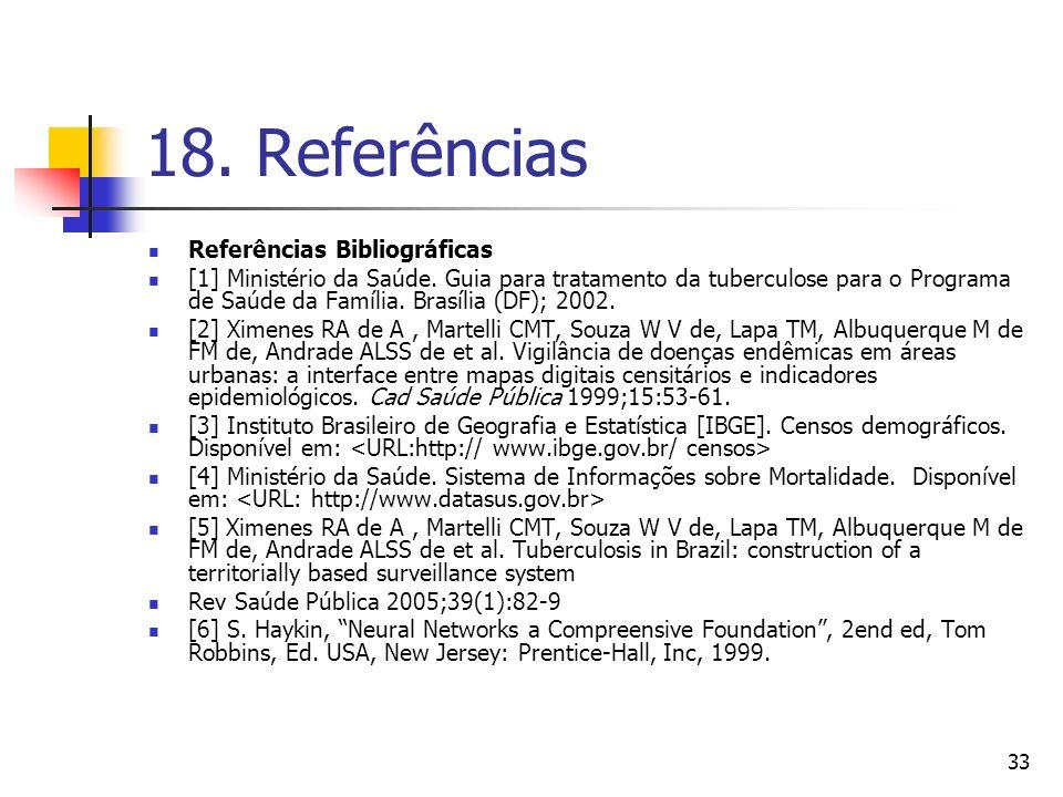 18. Referências Referências Bibliográficas