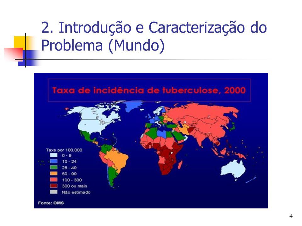 2. Introdução e Caracterização do Problema (Mundo)