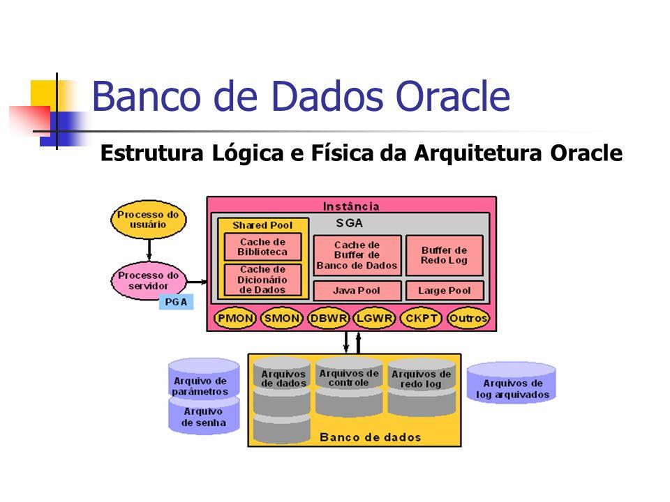 Estrutura Lógica e Física da Arquitetura Oracle