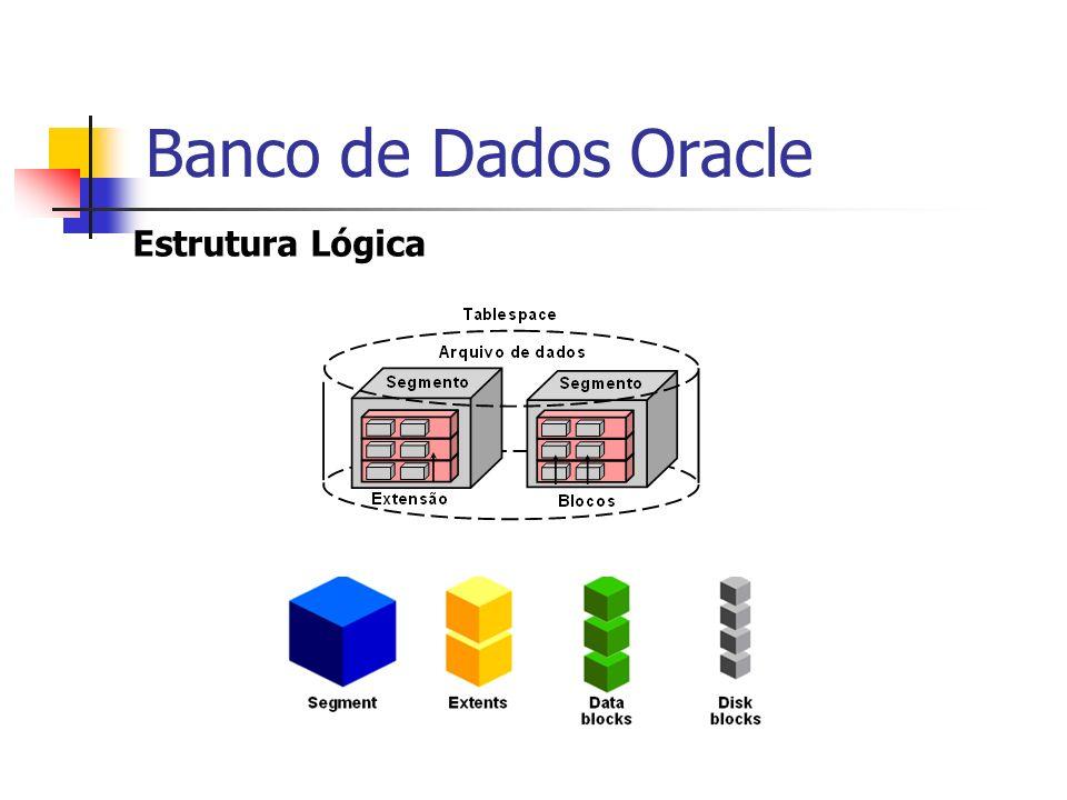 Banco de Dados Oracle Estrutura Lógica