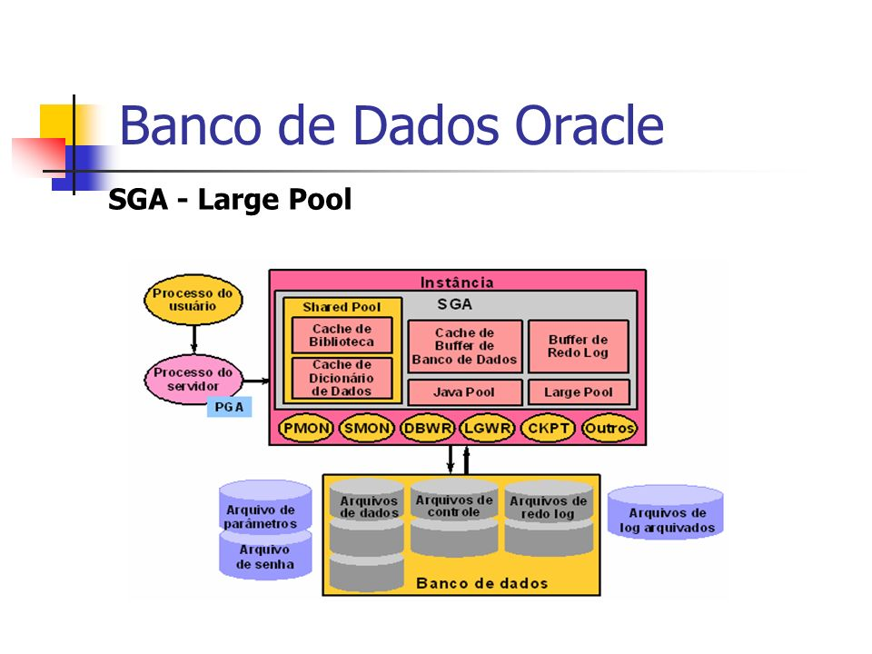 Banco de Dados Oracle SGA - Large Pool