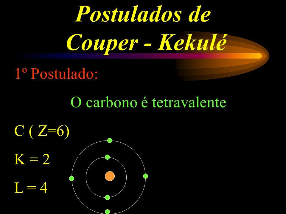 Postulados de Couper - Kekulé