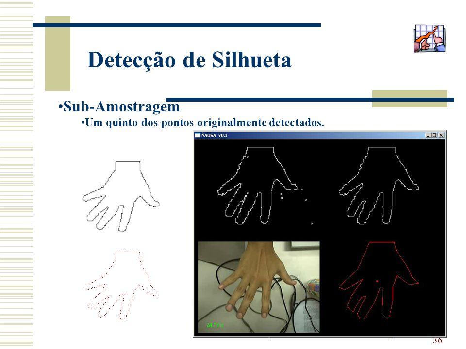 Detecção de Silhueta Sub-Amostragem