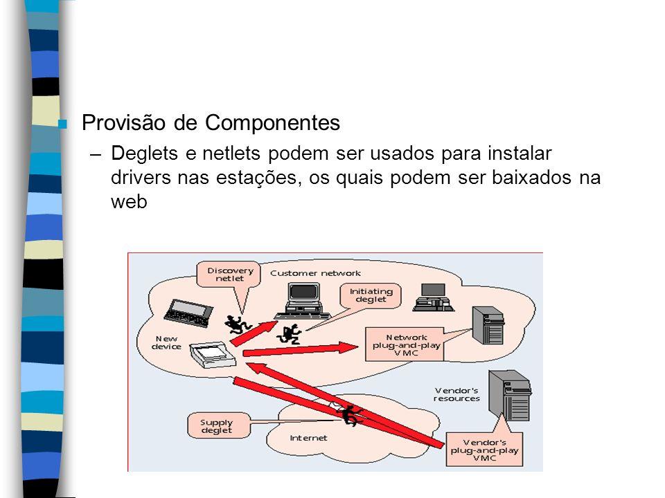 Provisão de Componentes