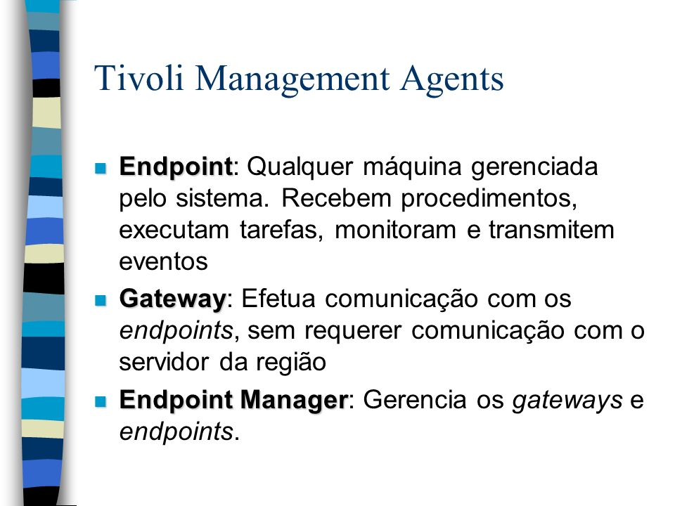 Tivoli Management Agents