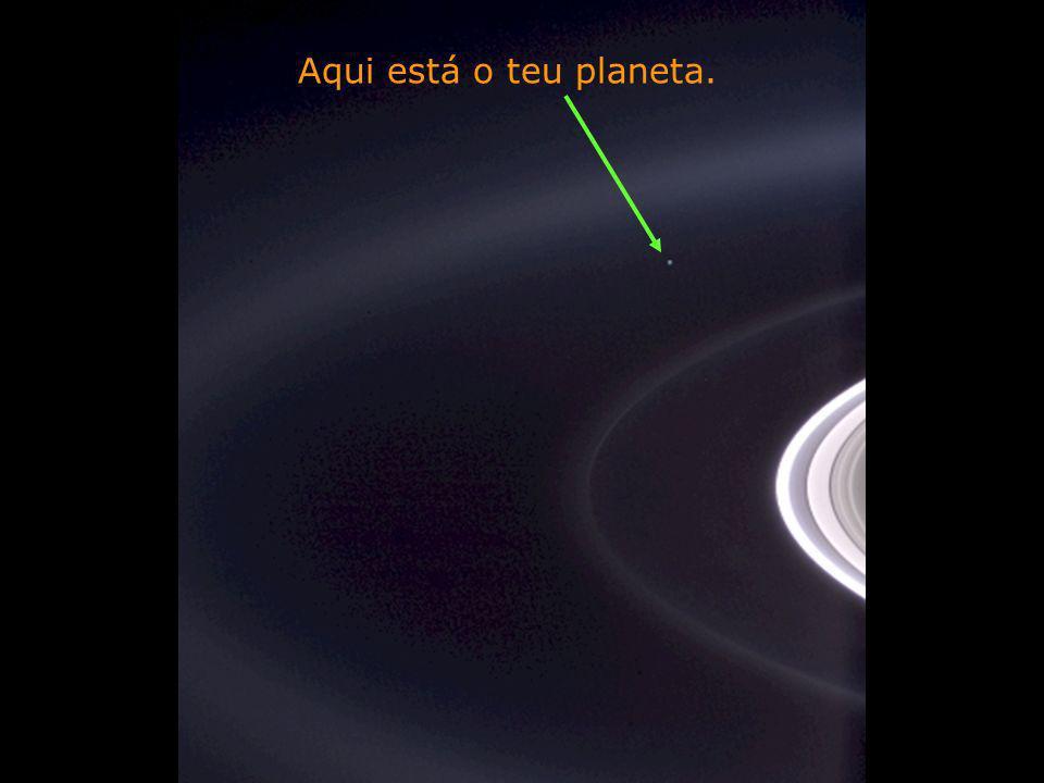 Aqui está o teu planeta.