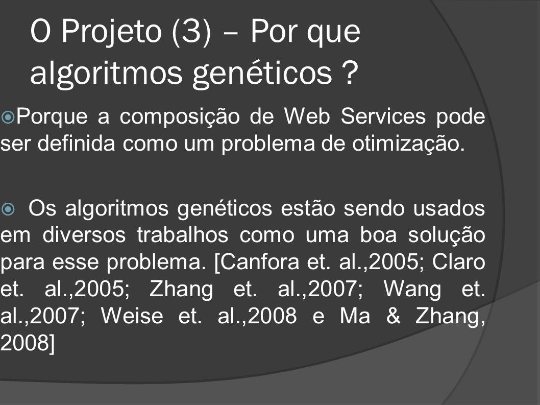 O Projeto (3) – Por que algoritmos genéticos