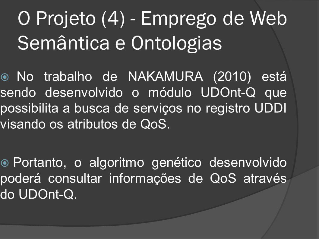 O Projeto (4) - Emprego de Web Semântica e Ontologias