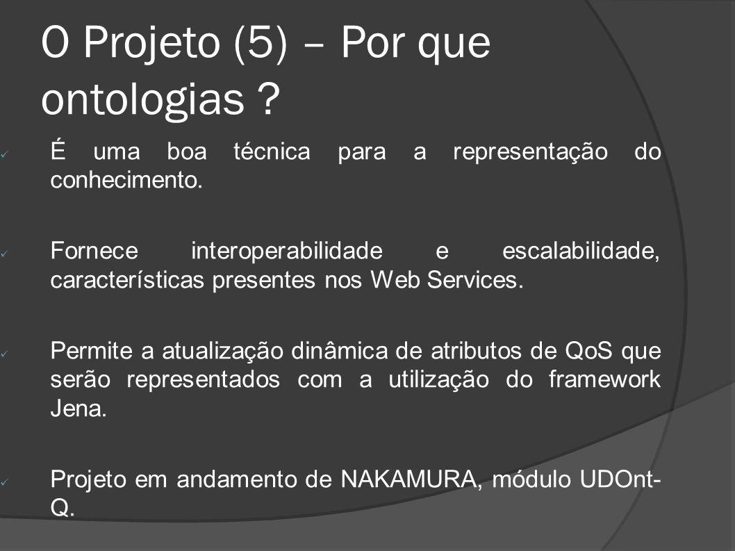 O Projeto (5) – Por que ontologias