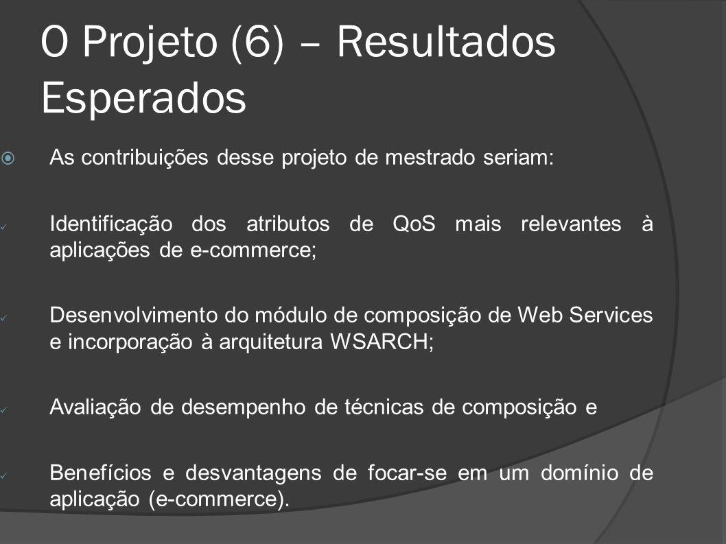 O Projeto (6) – Resultados Esperados