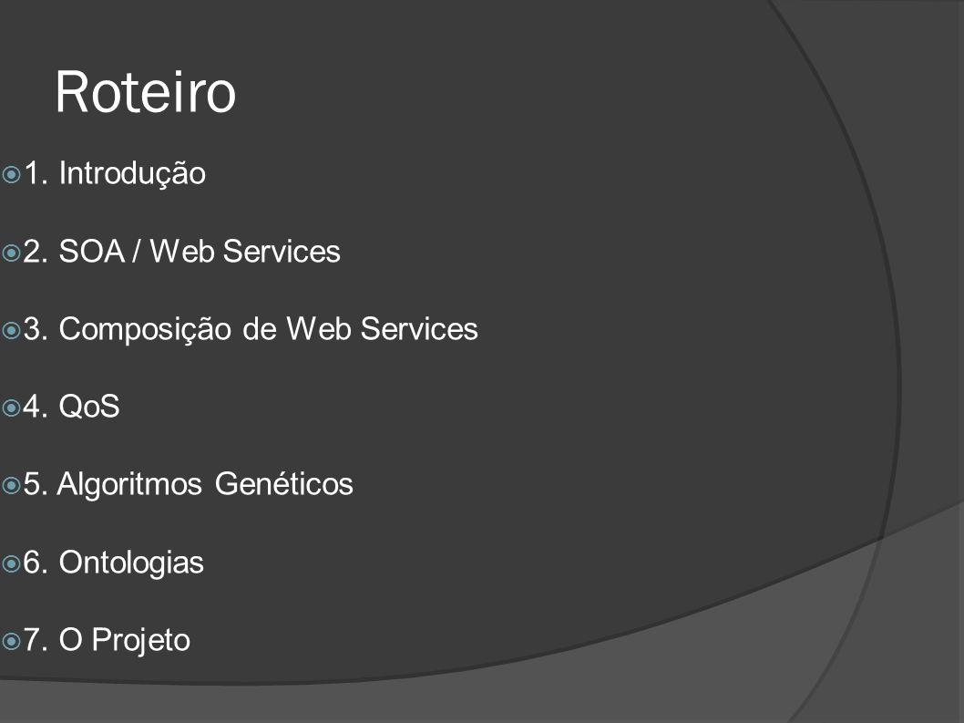 Roteiro 1. Introdução 2. SOA / Web Services