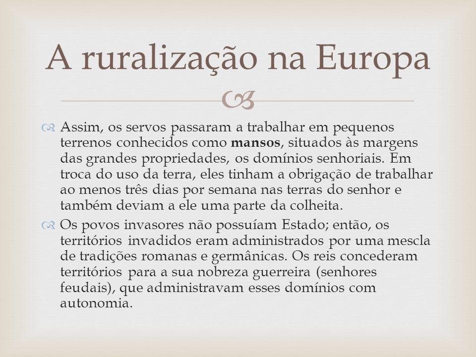 A ruralização na Europa