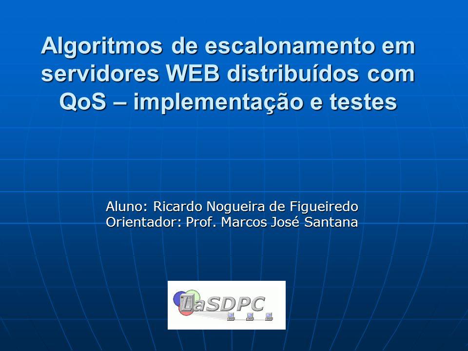 Algoritmos de escalonamento em servidores WEB distribuídos com QoS – implementação e testes