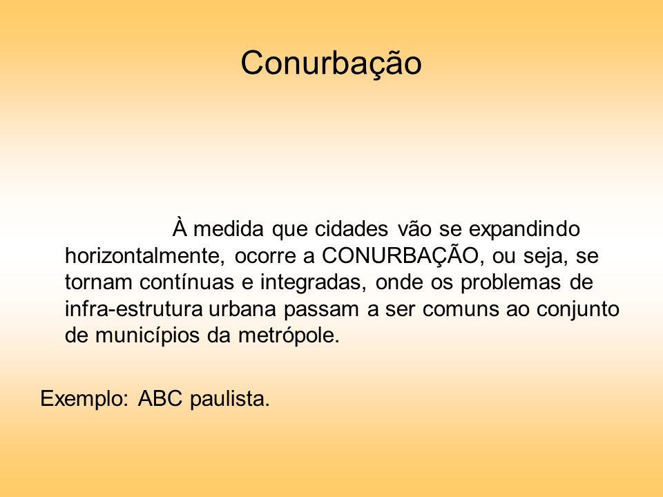 Conurbação