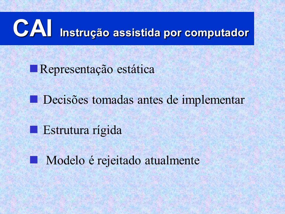 CAI Instrução assistida por computador