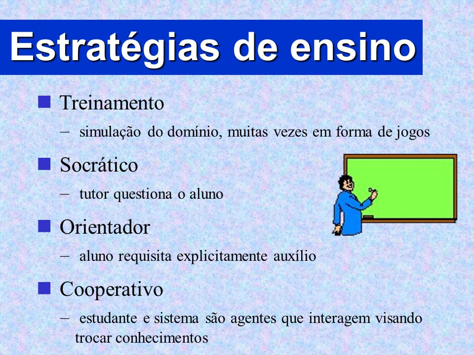 Estratégias de ensino Treinamento Socrático Orientador Cooperativo