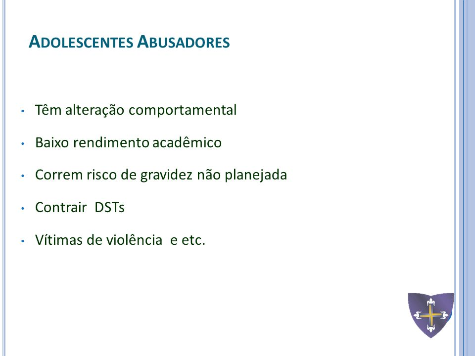 Adolescentes Abusadores